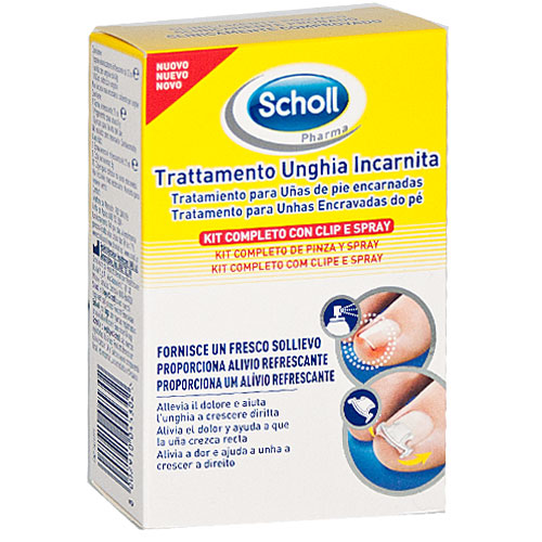 sports shoes 49317 0fa9e SCHOLL KIT TRATTAMENTO UNGHIA INCARNITA