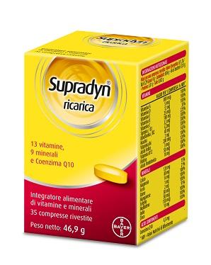 supradyn ricarica  Supradyn ricarica 35 compresse a € 11,10 su Farmacia Pasquino