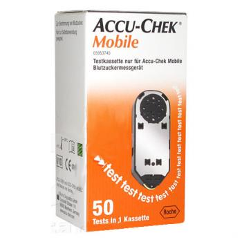 ACCU-CHEK MOBILE 50 TEST IN CASSETTA