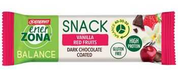 ENERZONA SNACK BALANCE VANILLA RED FRUITS 1 BARRETTA