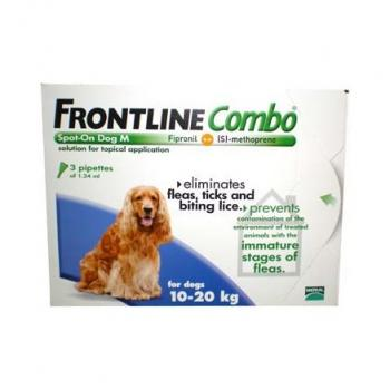 FRONTLINE COMBO SPOT ON 3 PIPETTE 1,34 ML CANI 10 - 20 KG
