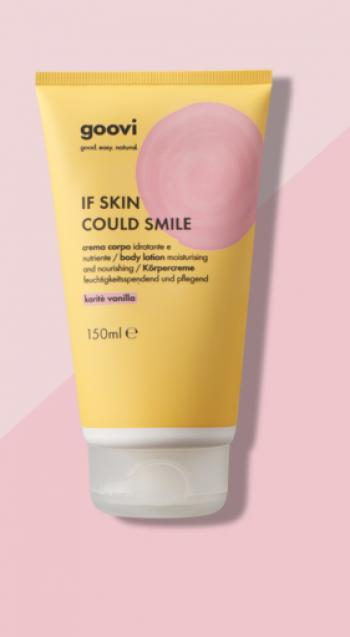 GOOVI IF SKIN COULD SMILE CREMA CORPO KARITE E VANILLA