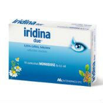 IRIDINA DUE COLLIRIO 10 FLACONCINI 0,5 ML