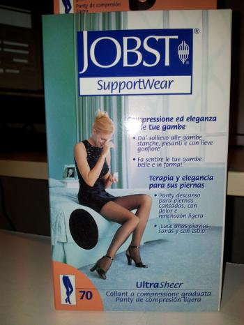 JOBST US 10-15MMHG COLLANT NOIR 2