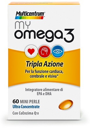 MULTICENTRUM MY OMEGA3 60 CAPSULE