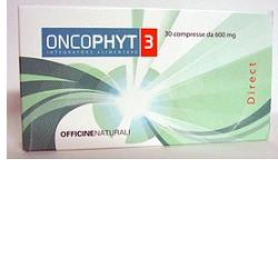 ONCOPHYT 3 30 COMPRESSE 600 MG